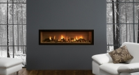 Studio Balanced flue hole in the wall fire place