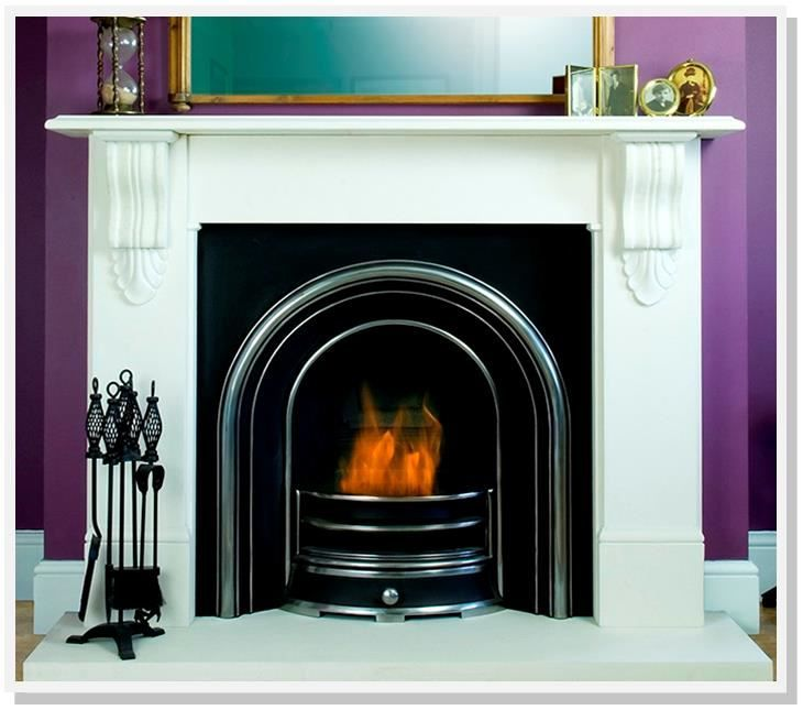 Colourful Fireplace