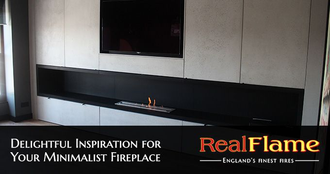 Delightful Inspiration for Your Minimalist Fireplace
