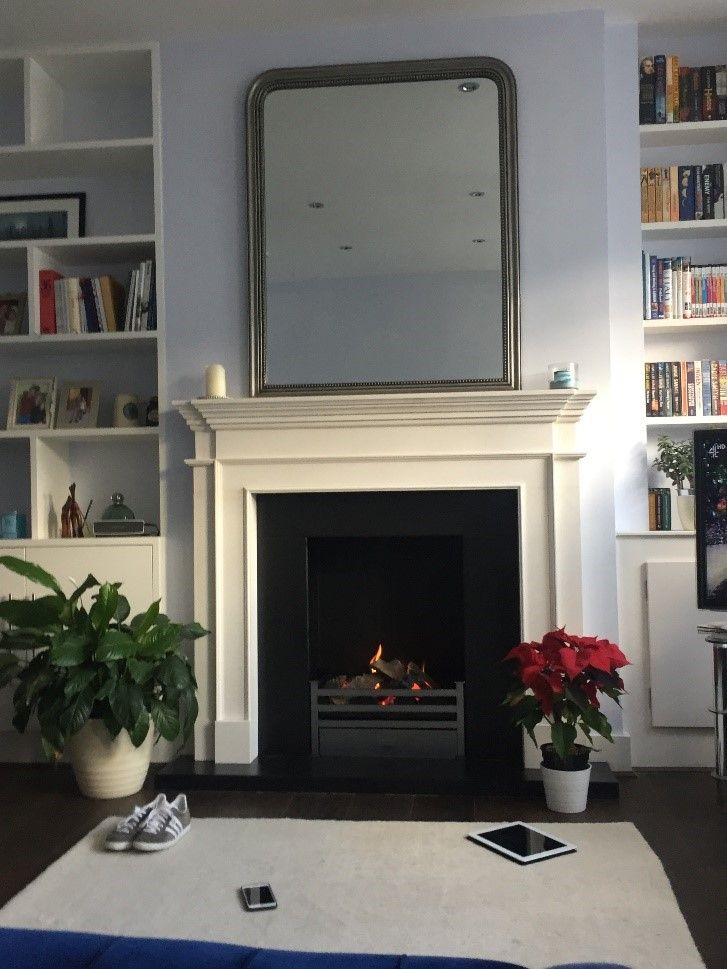 A gas fire presents the perfect blank canvas for any property developor or interior designer to put their creative stamp on the surrounding space