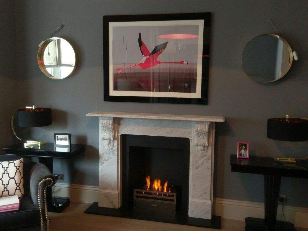 A great benefit of a gas fire is that is style flexibility allows for modern and traditional design options.