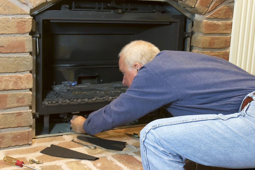 Seasonal Maintenance on Gas Fireplace