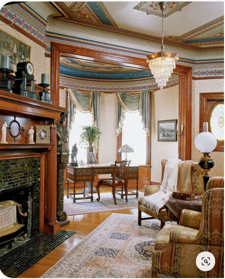 Victorian Inspired Room