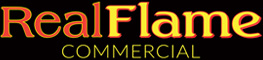 Real Flame Commercial Logo
