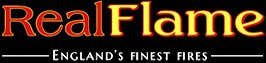Real Flame - England's Finest Fires Logo