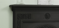 Victorian Cast Iron Mantel