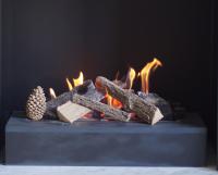 Stone Platform Grate Fires