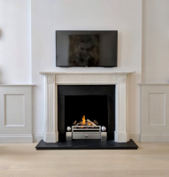 18″ Luxury High Definition Charred Log Set