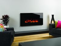 Studio Electric Glass Wall mounted fires
